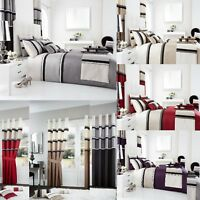PANAMA Duvet Cover Sets / Fully Lined Curtains/Cushion Covers/ Door