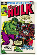Incredible Hulk 271 Marvel 1981 VF 1st Rocket Raccoon Guardians Of The Galaxy