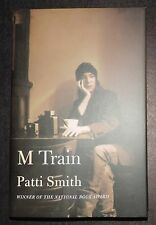 PATTI SMITH M Train SIGNED Autographed Hardcover Book  w/ COA