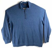 Nike Mens 2XL Tiger Woods Collection Quarter Zip Pull Over Tall Long Sleeve