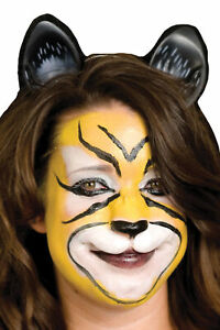 WOOCHIE KITTY CAT FACE TIGER LEOPARD FELINE NOSE PROSTHETIC COSTUME MAKEUP FA32L