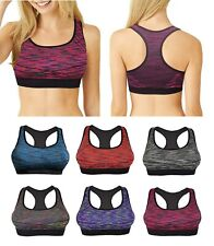 Damen Gepolstert Sport BH Damen Crop Top Fitness Yoga Training Run Fitness Übungen
