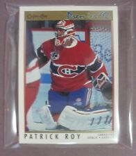 1991-92 O-Pee-Chee Premier Montreal Canadiens Team Set