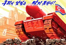 North Korea Original Propaganda: No One Can Stop Our Way !!