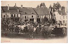 CPA 52 - FAYL-BILLOT (Haute Marne) - La Foire aux Bestiaux - Ed. Raguet - DND *