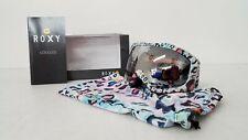 Roxy Women's Rainbow Leopard Print Snowboard Googles