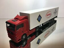 LION CAR MAN TGA 18 480 TRUCK + TRAILER - VENZ BRINTA HONIG - 1:50 - EXCELLENT