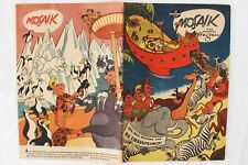 Mosaik von Hannes Hegen | Comic DDR | Digedags | Nr 12 Nov 1957 | gebraucht