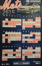 2015 New York Mets Stadium Giveaway SGA Fridge Magnet Schedule Brand New Mint