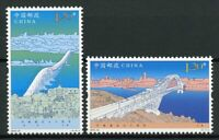China Architecture Stamps 2019 MNH Diplomatic Relations Russia Bridges 2v Set