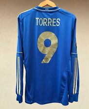 CHELSEA LONDON 2012/2013 HOME FOOTBALL SOCCER SHIRT JERSEY MAGLIA ADIDAS TORRES