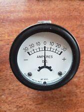Emico HI-TORK NF2C-2127 Precision Electrical Instruments 0-20 D.C. AMP Meter