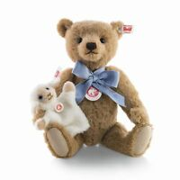 STEIFF LITTLE BOY BLUE Teddy Bear Mohair EAN 683077 29cm 11.8 inches - NRFB NEW