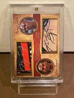 MICHAEL JORDAN CARD + KOBE BRYANT CARD - PRISTINE CONDITION DUAL IMAGE AWESOME