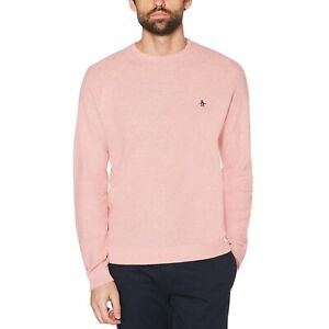 ORIGINAL PENGUIN Link Stitch knitted sweater size med Bnwt free p+p rrp £70