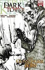 DARK TOWER GUNSLINGER BORN #7 STEPHEN KING 1 IN 50 JAE LEE SKETCH VARIANT NM