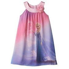 NWT Girls 6 DISNEY Frozen Elsa Dress By Jumping Beans PRETTY ~ L@@K!