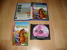 BARBIE HORSE ADVENTURES WILD HORSE RESCUE PARA LA SONY PS2 USADO COMPLETO