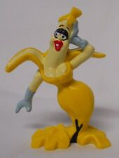 VINTAGE! 1980's Applause Will Vinton Studios Banana White PVC Figure