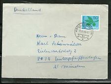 Briefmarken aus der Schweiz (1960-1969) mit Mischfrankatur