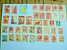 Lot of 71 old vintage South American stamps Argentina Peru Guatemala El Salvador
