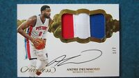 2016-17Flawless - Horizontal Patch Autographs Gold #H-AD Drummond 1/7 [134]