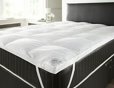 Goose Feather And Down Mattress Topper Single Double King Superking 2 inch