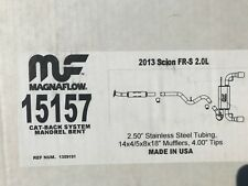 Toyota 86 Stainless Steel Magnaflow Exhaust 2013-2015.
