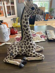 "Giraffe resin Figurine Statue large animal 13"""