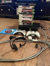 Xbox 360 Bundle w/ Kinect 250GB Hard Drive Wireless Controllers 20 Games Works!