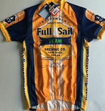 FULL SAIL BREWING CO. TEAM CYCLING JERSEY S NEW**