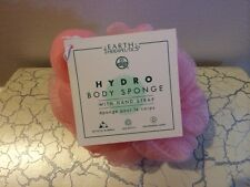 Earth Therapeutics, Hydro Body Sponge with Hand Strap Peach 1 Sponge