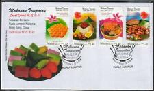 MALAYSIA 2014 Local Food Joint Issue HK & China Egg Waffle Satay Nasi Lemak FDC