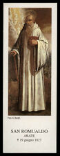 santino-holy card*S.ROMUALDO AB.