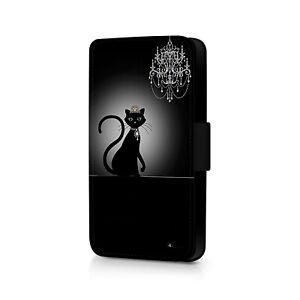 Cat Queen Phone Flip Case For iPhone - Huawei - Google