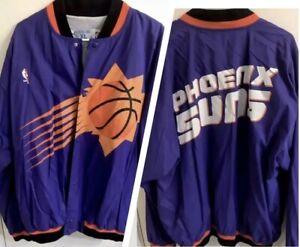 Suns Champion Jacket, Purple Throwback NBA Vintage Purple 90s Last Dance Old