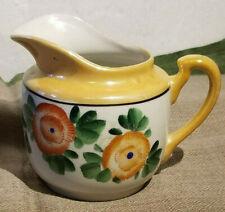 Vintage Japan ware lusterware pitcher, FREE SHIP