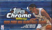 1999-00 99-00 TOPPS CHROME HOBBY BOX- ELTON BRAND/FRANCIS/LAMAR ODOM/MARION RC