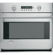 """Ge Monogram 30"""" Stainless Steel Single Wall Convection Oven Zet1Smss"""
