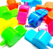 4 pc NEW BIG Whistle 55mm Pinata Bag Filler Loot Gag Birthday Party Favor hiking