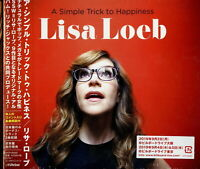 LISA LOEB-A SIMPLE TRICK TO HAPPINESS-JAPAN DIGIPAK CD BONUS TRACK F56