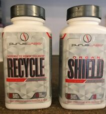 Purus Labs Stack Organ Shield + Recycle PCT *Free Shipping* New/Factory Sealed