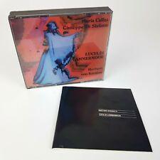 LUCIA DI LAMMERMOOR Herbert von Karajan / 2 CD BOX SET (1986)