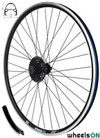 700c wheelsON™ Rear Wheel +8 Speed Shimano HG31 8 Hyperglide Cassette 36H QR