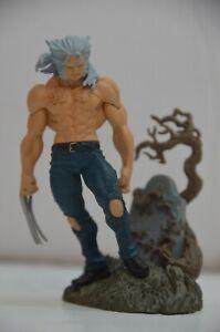 """Vintage 2005 HG MARVEL HEROES 3 Wolverine Logan Tombstone Mini Figure 3 3/4"""""""