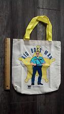 Big Bossman vintage WWE WWF World Wrestling Federation hand bag VERY RARE !!!