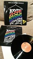 "ANDREW LLOYD WEBBER JOSEPH AMAZING LP VINYL 12"" 1991 HOLLAND FIRST PRESS G+/G+"