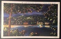 VTG 1938 Postcard In The Land Of The Sky  Junaluska, North Carolina Postmark B66