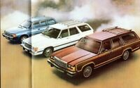 1983 Ford STATION WAGON's Brochure / Catalog: ESCORT, LTD, Country Squire, New!