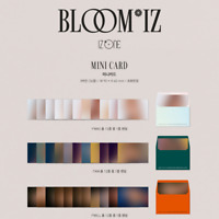 IZ*ONE 1st Album BLOOM*IZ Official Mini Card